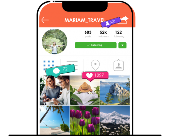 Organic Instagram Growth Service